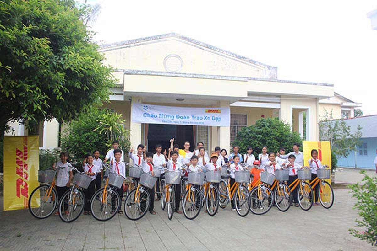 DHL Express Việt Nam nhận Giải Vàng Dự Án Phát Triển Cộng Đồng Xuất Sắc
