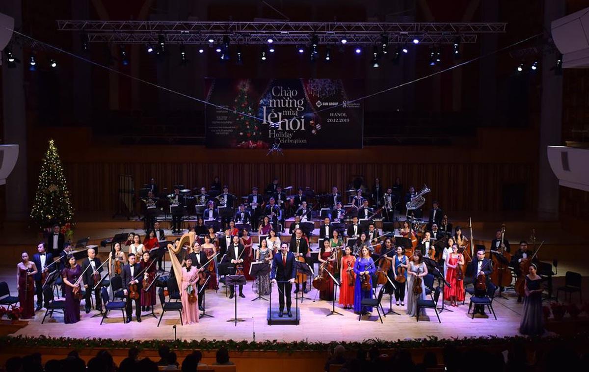 Chào mừng mùa lễ hội cùng Sun Symphony Orchestra
