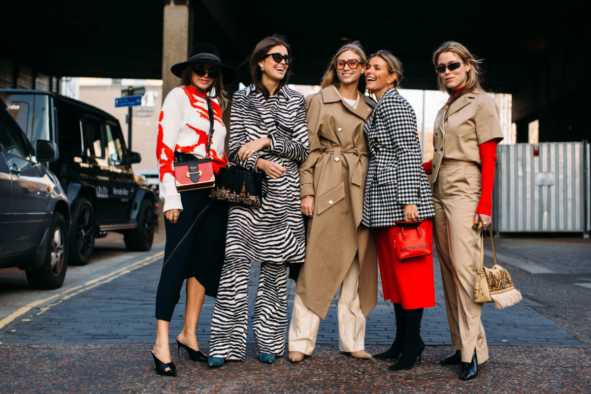 Những khoảnh khắc street style tại London Fashion Week 2019