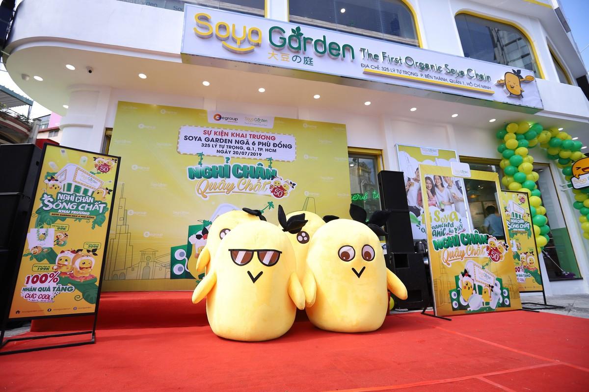 Soya Garden khai trương cửa hàng thứ 50 tại Việt Nam