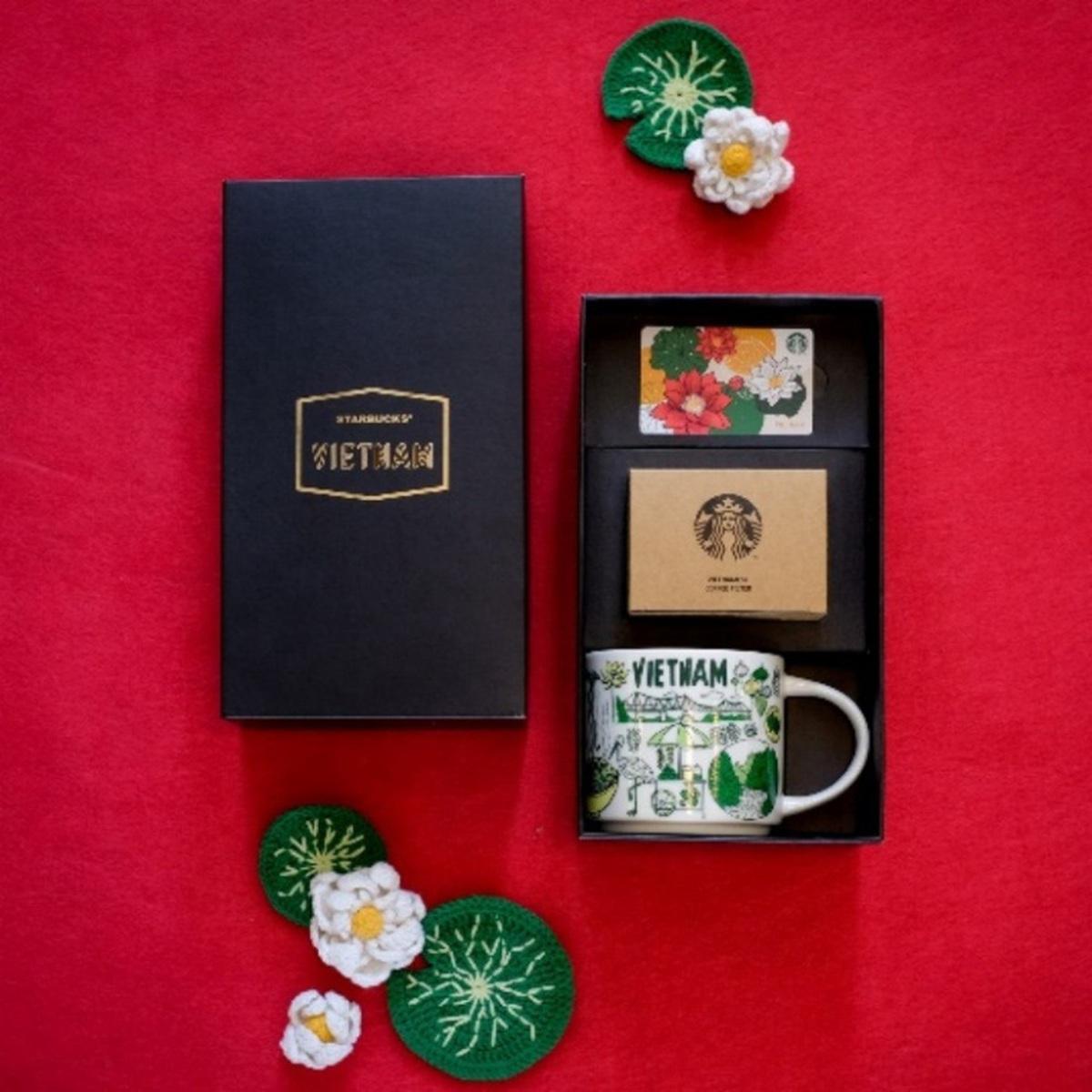 Starbucks giới thiệu các thiết kế mang cảm hứng Việt
