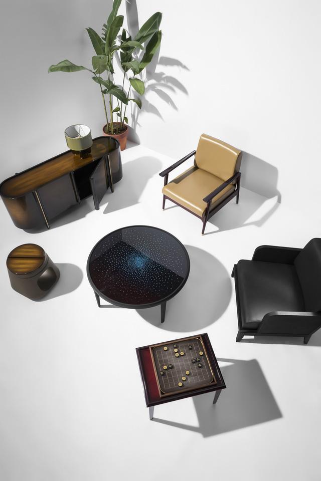 Hanoia chính thức ra mắt dòng sản phẩm nội thất sơn mài - Ảnh 4.