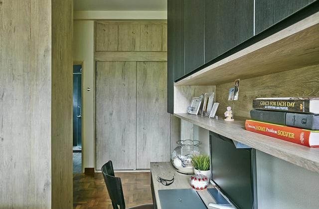 Căn hộ kết hợp giữa gỗ mộc và đồ nội thất sắc màu - Ảnh 5.