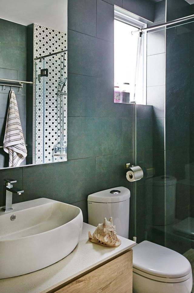 Căn hộ kết hợp giữa gỗ mộc và đồ nội thất sắc màu - Ảnh 7.