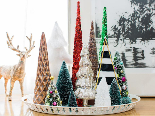 28 ý tưởng trang trí mùa Giáng sinh cho không gian nhỏ - Ảnh 1.