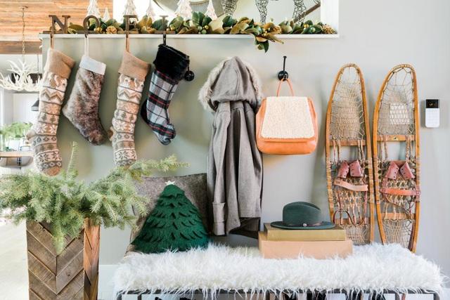 28 ý tưởng trang trí mùa Giáng sinh cho không gian nhỏ - Ảnh 9.