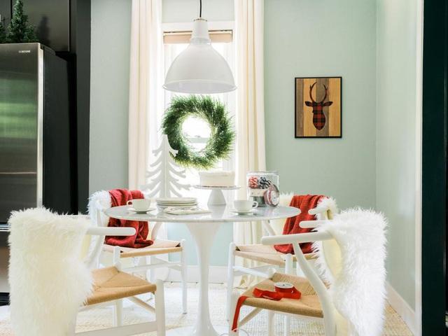 28 ý tưởng trang trí mùa Giáng sinh cho không gian nhỏ - Ảnh 2.