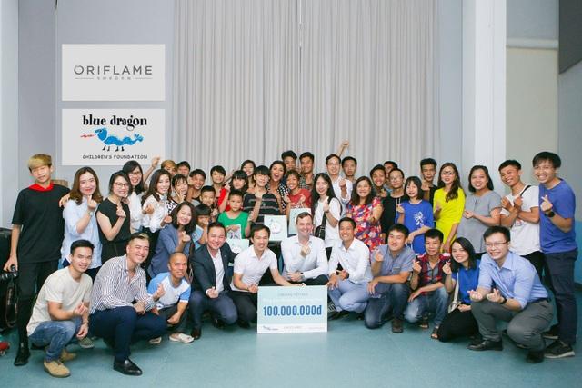 Oriflame nhận giải thưởng Doanh nghiệp tích cực hoạt động vì cộng đồng 2020 - Ảnh 1.
