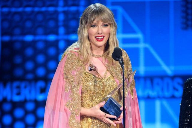 Giải thưởng Âm nhạc Mỹ 2020 đã gọi tên Taylor Swift - Ảnh 1.