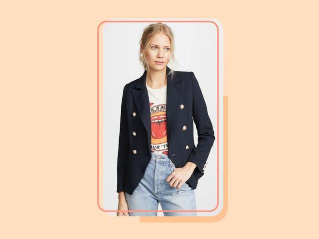 17 mẫu áo blazer được yêu thích trong năm nay - Ảnh 9.