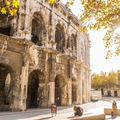 Mùa thu vàng mơ mộng ở Nîmes