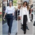 Nổi bật với bộ trang phục mang tông màu đen – trắng