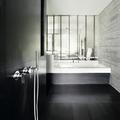 Bí quyết để có một phòng tắm màu đen ấn tượng