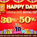 Lock&Lock ưu đãi lớn kỷ niệm 10 năm đến Việt Nam