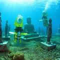 Lặn biển để ngắm những pho tượng bí ẩn và tuyệt đẹp