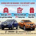 """""""Chăm sóc xe nhanh - Vui hè mát lạnh"""" với Nissan Việt Nam"""