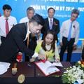 Lễ ký kết hợp tác xúc tiến thương mại 3 bên NetViet International - DN trẻ BRVT - VietCham