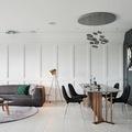 Sự kết hợp giữa cổ điển và hiện đại trong căn hộ 2 phòng ngủ
