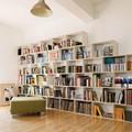 Ý tưởng thiết kế giá sách cho căn hộ chung cư