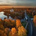 Ngắm mùa thu vàng ở cố đô của nước Nga
