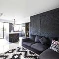 Màu đen cho mảng tường nội thất: có nên không?