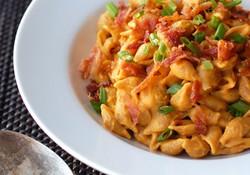 Mỳ Ý bí đỏ - món ăn của tháng 10