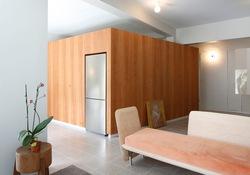 Căn hộ 70m2 không gian mở và phong cách tối giản