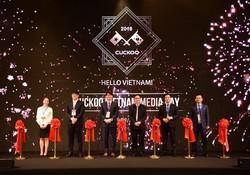 Nhãn hàng gia dụng Hàn Quốc Cuckoo chính thức gia nhập thị trường Việt Nam