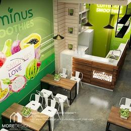 Luminus Smoothies – Một quán sinh tố rất khác biệt