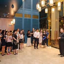 Oakwood Apartments ra mắt nhà hàng mới với tên gọi no.18 Lounge