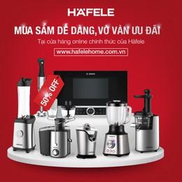 Häfele Việt Nam ra mắt cửa hàng trực tuyến