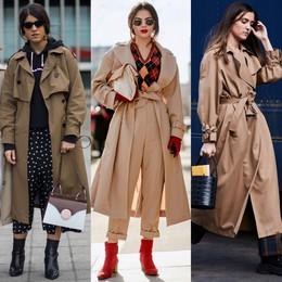 Trench coat: nhất định phải có trong mùa đông