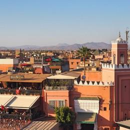 Thành phố đỏ Marrakech quyến rũ