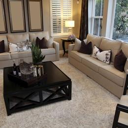 10 ý tưởng độc đáo trang trí phòng khách với thảm trải sàn