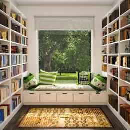 6 ý tưởng cho thư viện mini tại nhà