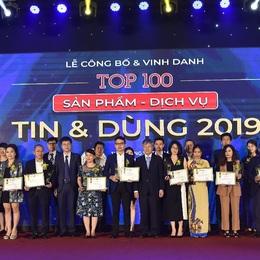 Oriflame vinh dự đạt Top 100 sản phẩm - dịch vụ được Tin & Dùng 2019