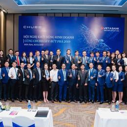 Hội nghị kinh doanh 2019 của VietABank và Chubb Life Việt Nam