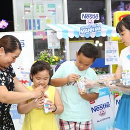Nestlé Việt Nam giới thiệu sữa nước ít đường