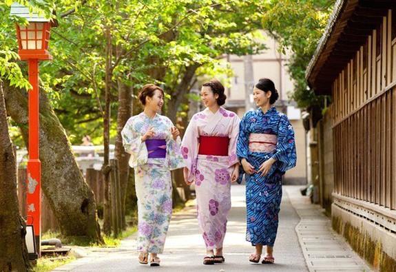 """Ý nghĩa của từ """"Kimono"""" và """"Yukata"""""""