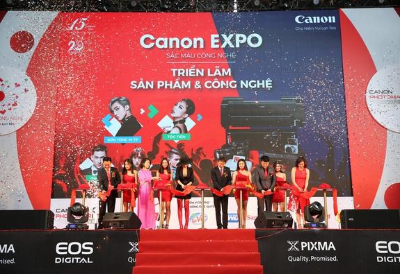 CANON EXPO 2017: TRIỂN LÃM SẮC MÀU CÔNG NGHỆ