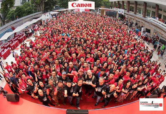 Canon PhotoMarathon 2017 đến Hà Nội