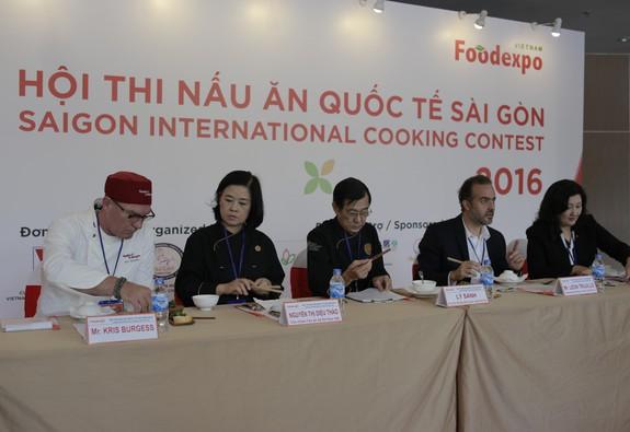 Chung kết thi nấu ăn quốc tế Sài Gòn tại Vietnam Foodexpo 2017