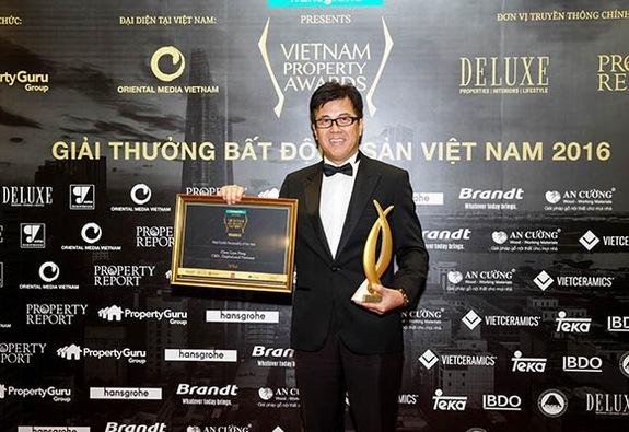 Tổng Giám đốc CapitaLand Việt Nam nhận giải Nhân Vật Bất Động Sản của năm