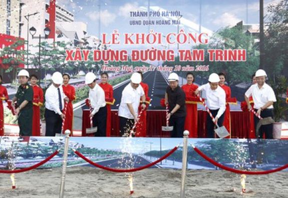Hà Nội chi hơn 2.000 tỷ mở rộng 3,3 km đường Tam Trinh