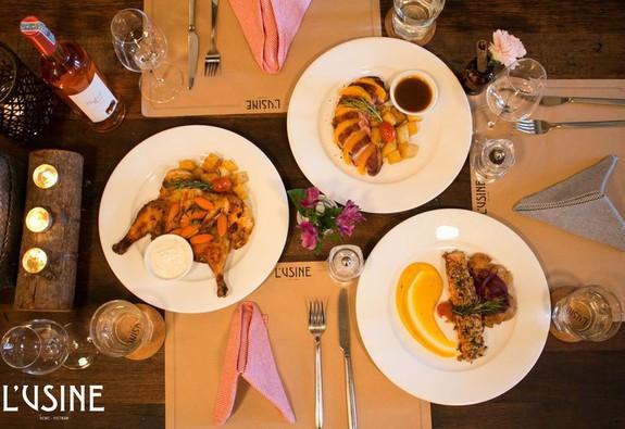 L'Usine Eatery – Điểm đến cho một bữa tối thân mật mà lãng mạn