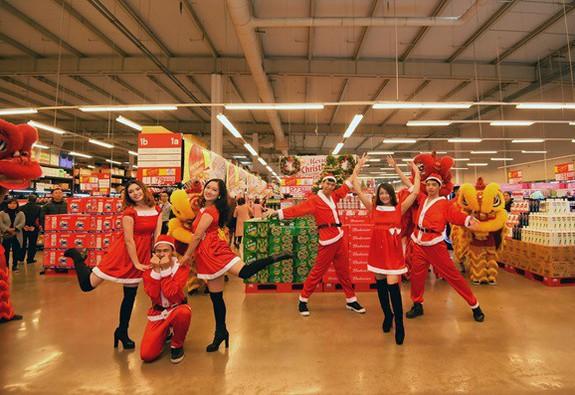 Tưng bừng mua sắm đón Giáng sinh tại MM Mega Market