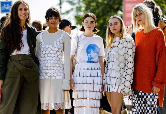 Dự đoán xu hướng thời trang qua streetstyle của Paris Fashion Week