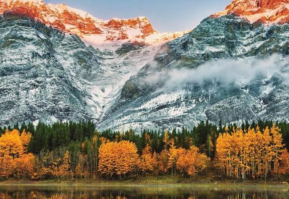 Ngắm mùa thu kỳ diệu trên đỉnh Rocky Mountain
