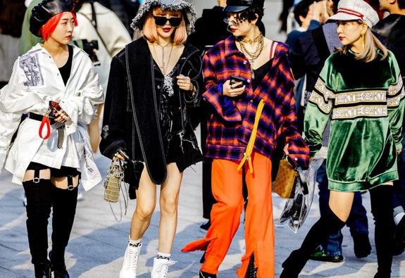 Seoul Fashion Week và sự trở lại của chiếc mũ baker boy