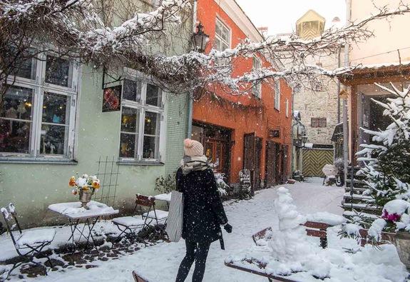 Tallinn – thế giới tuyết trong cổ tích